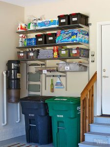 Be sure to add in a handy place to sort and store your garbage before pickup