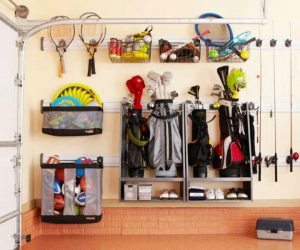 Garage storage ideas you can use for those odd items