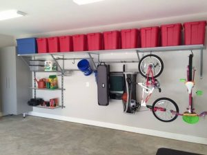 Get your messy garage cleaned up with storage ideas you can use