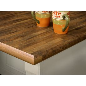 Wooden counter tops come in a variety of woods.