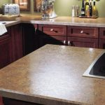 Laminate counter tops can give you the look of natural stone as half the price.