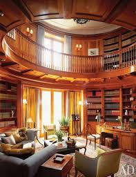 A formal home library