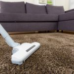 Vacuum your new carpet carefully.