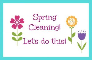 Spring cleaning the inside of your home
