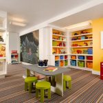 Choosing a carpet for your child's playroom.