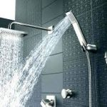 You have a variety of shower heads to choose from.