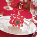 Christmas place card ideas