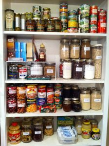 Is your pantry stocked for possible power outages?